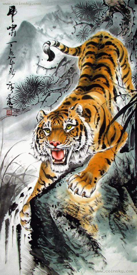 黄广灵的下山虎