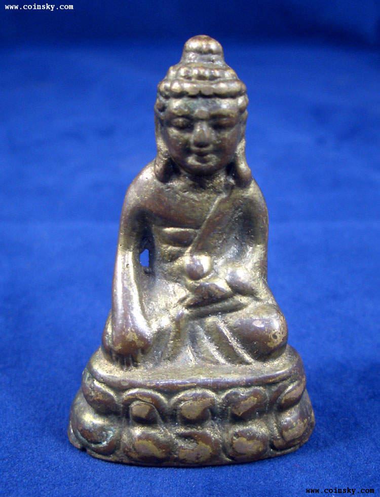 朋友代售之民国鎏金小铜佛像