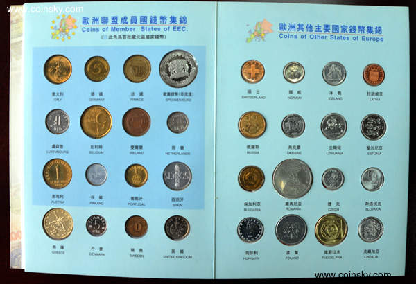 钱币天堂--钱币商城--币!币!币!--查看欧洲钱币护