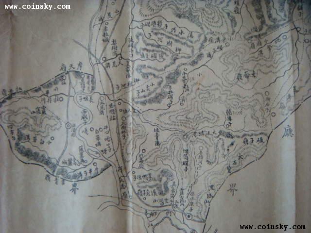 吉林老地图.汪清县