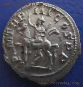 舍 查看古罗马戈尔迪安三世狄纳里银币详细资料