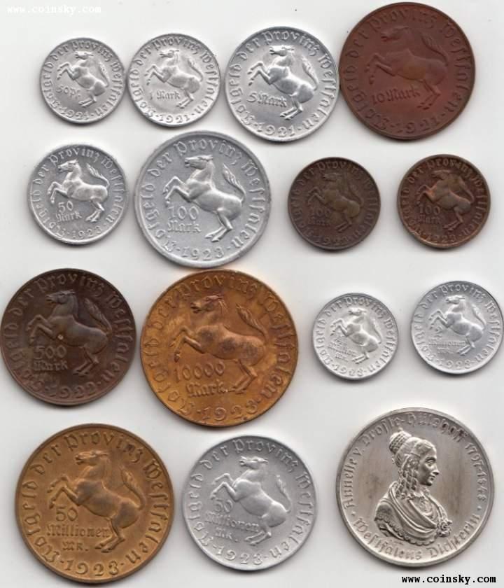 德国硬币图片 - 各国硬币 图片及名称图片