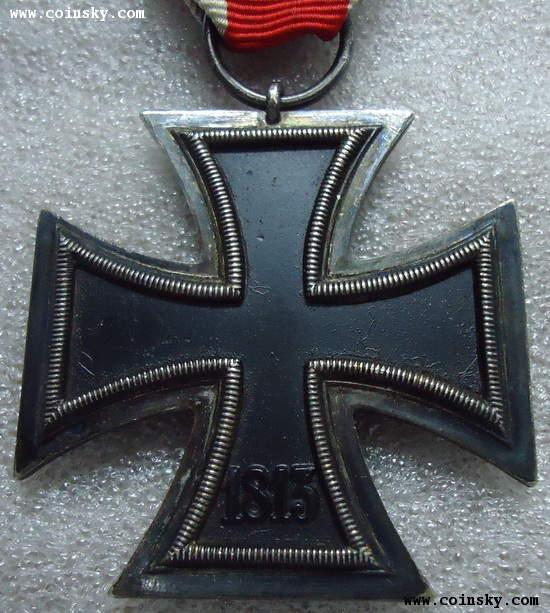 [已售] 原品―德国纳粹二战二级铁十字勋章