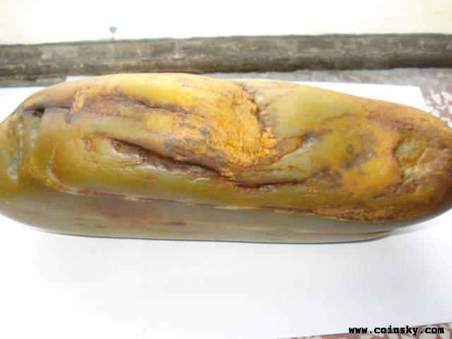 白度可以的新疆和田玉籽料原石5公斤详细资料