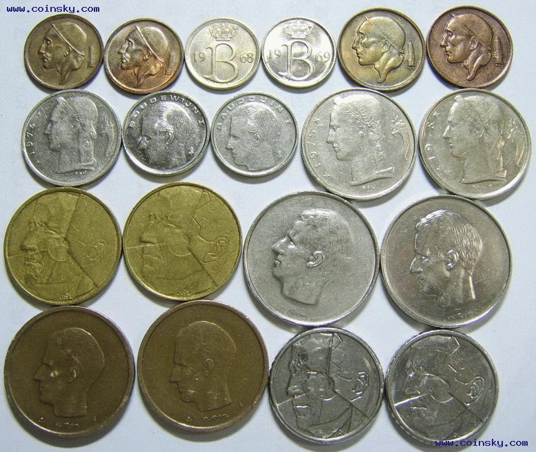 钱币天堂--钱币商城--◆风云世界硬币店--查看比利时