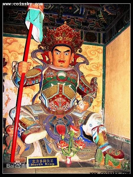佛教四大天王及其含义