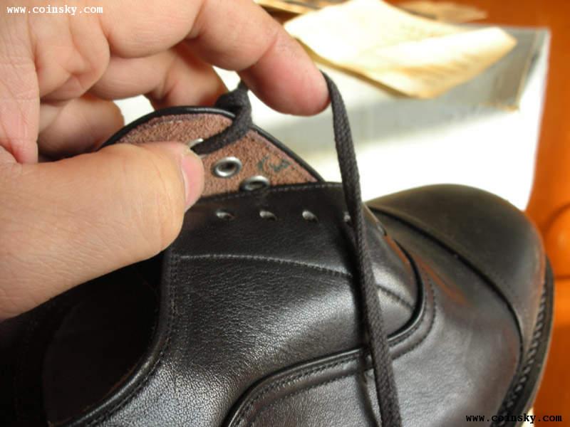 (正品稀见)78式低腰军官皮鞋
