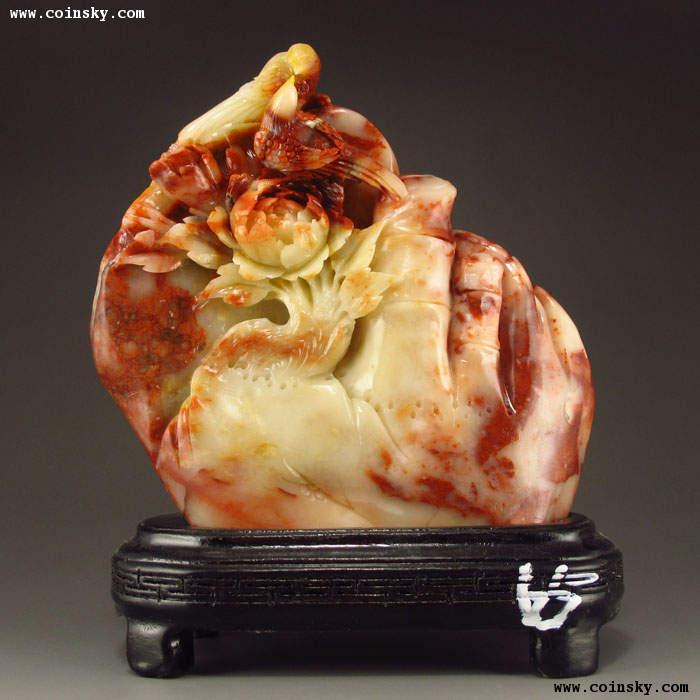 芙蓉石精美雕刻    3 - h_x_y_123456 - 何晓昱的艺术博客