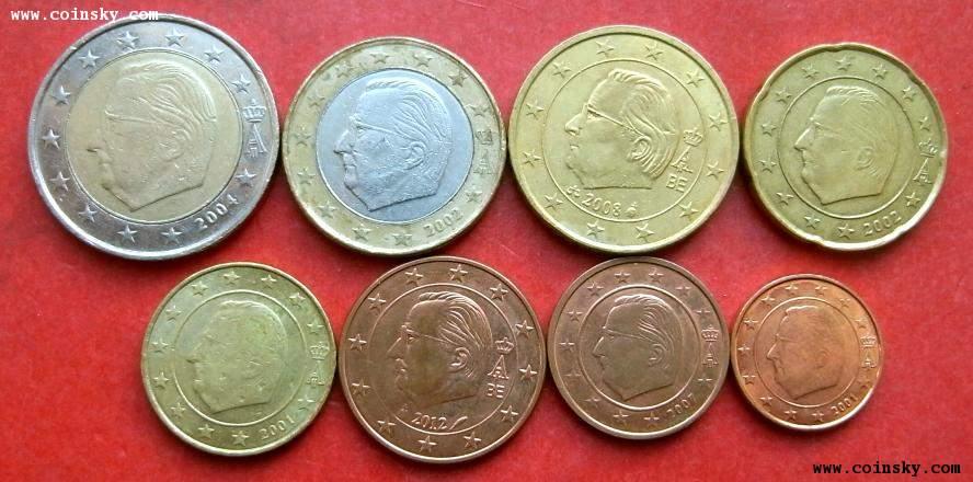 堂--钱币商城--紫色小花*外币馆--查看比利时-欧