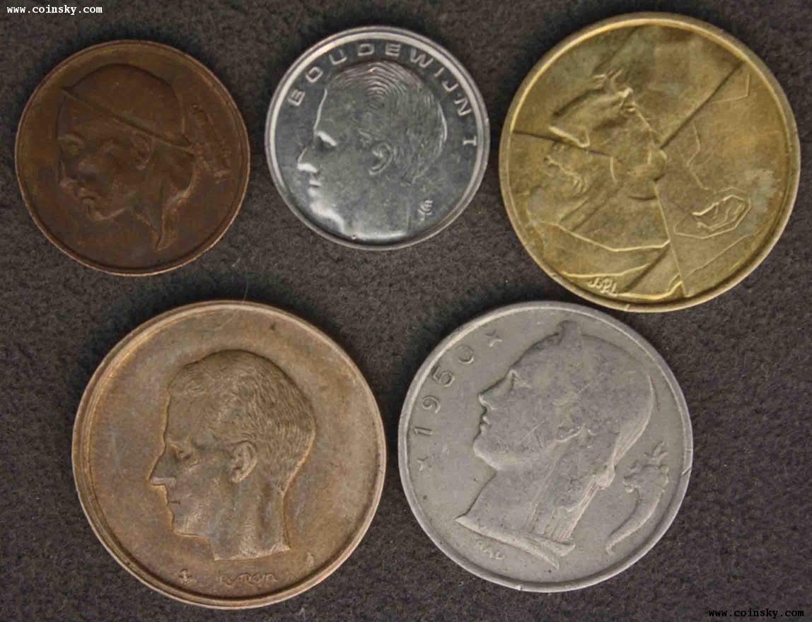 比利时币;葡萄牙硬币2组