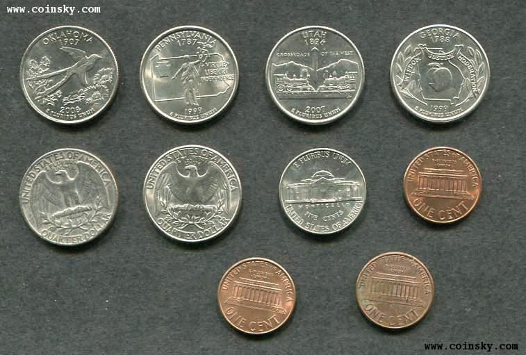 美元硬币详细资料