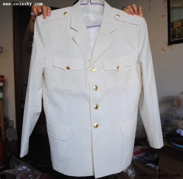 八七式 海军军官夏季白色毛料常服图片